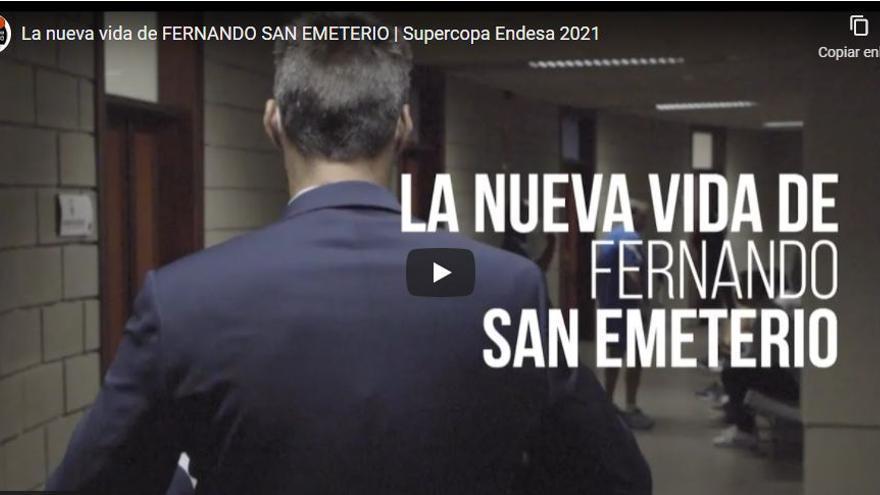 Vídeo: La nueva vida de San Emeterio en el Valencia Basket