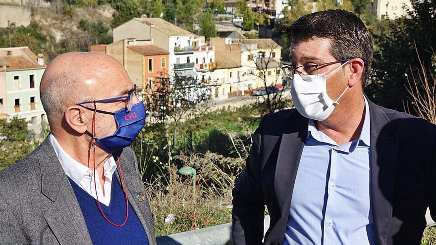 La CHJ invertirá 600.000 euros para construir un parque fluvial en Cantereria