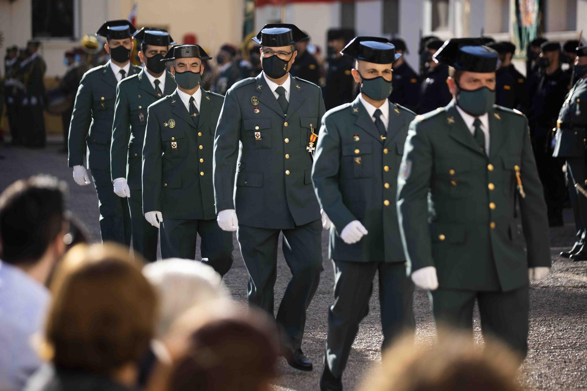 Día del Pilar, patrona de la Guardia Civil