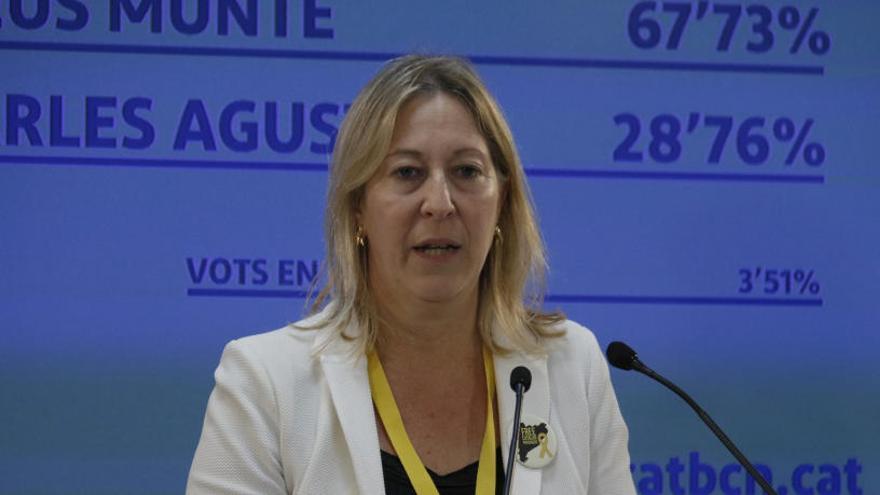 Neus Munté deixa la presidència del PDeCAT