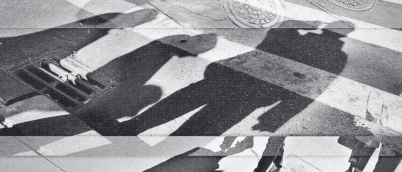 Collage perteneciente a la serie 'Manhattan Puzzle', 2001.
