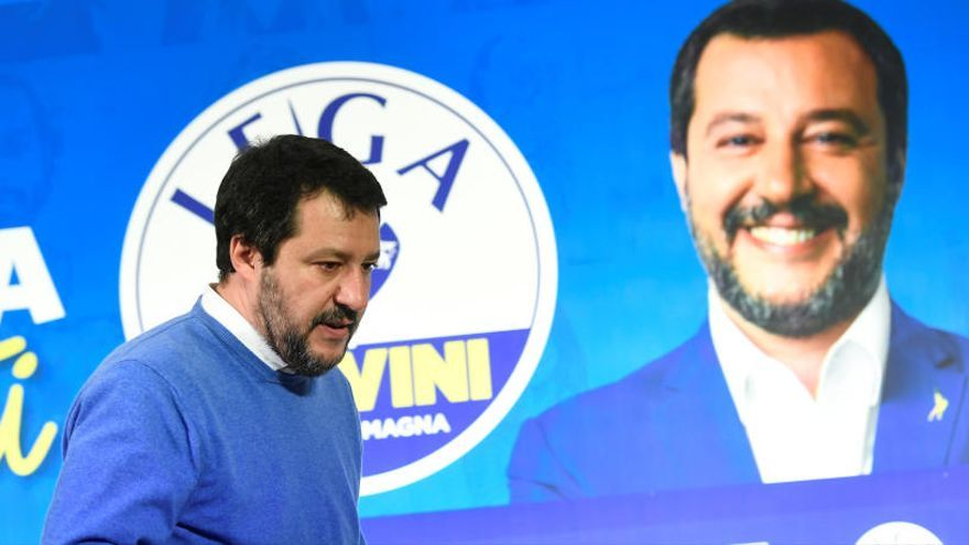 La izquierda italiana frena a Salvini en las regionales de Emilia-Romaña