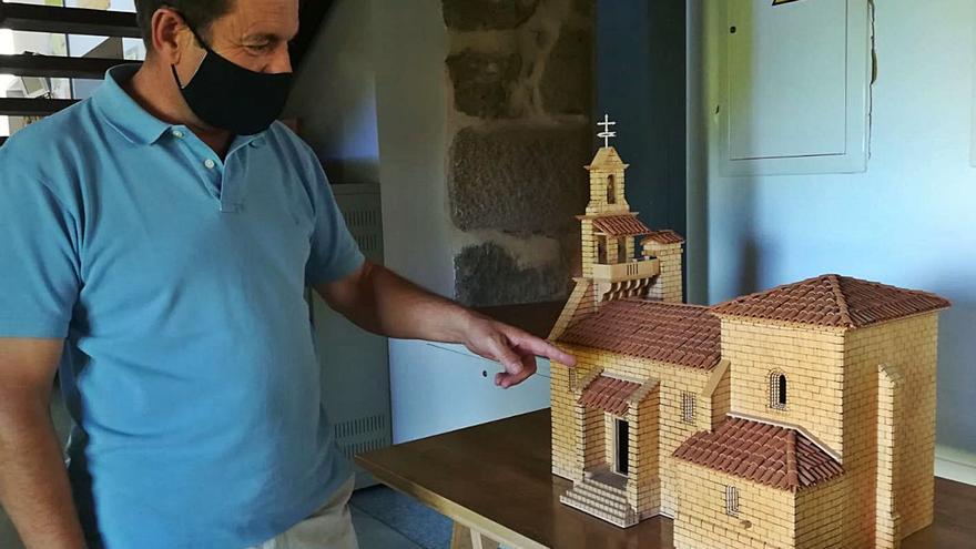 El románico zamorano, en miniatura