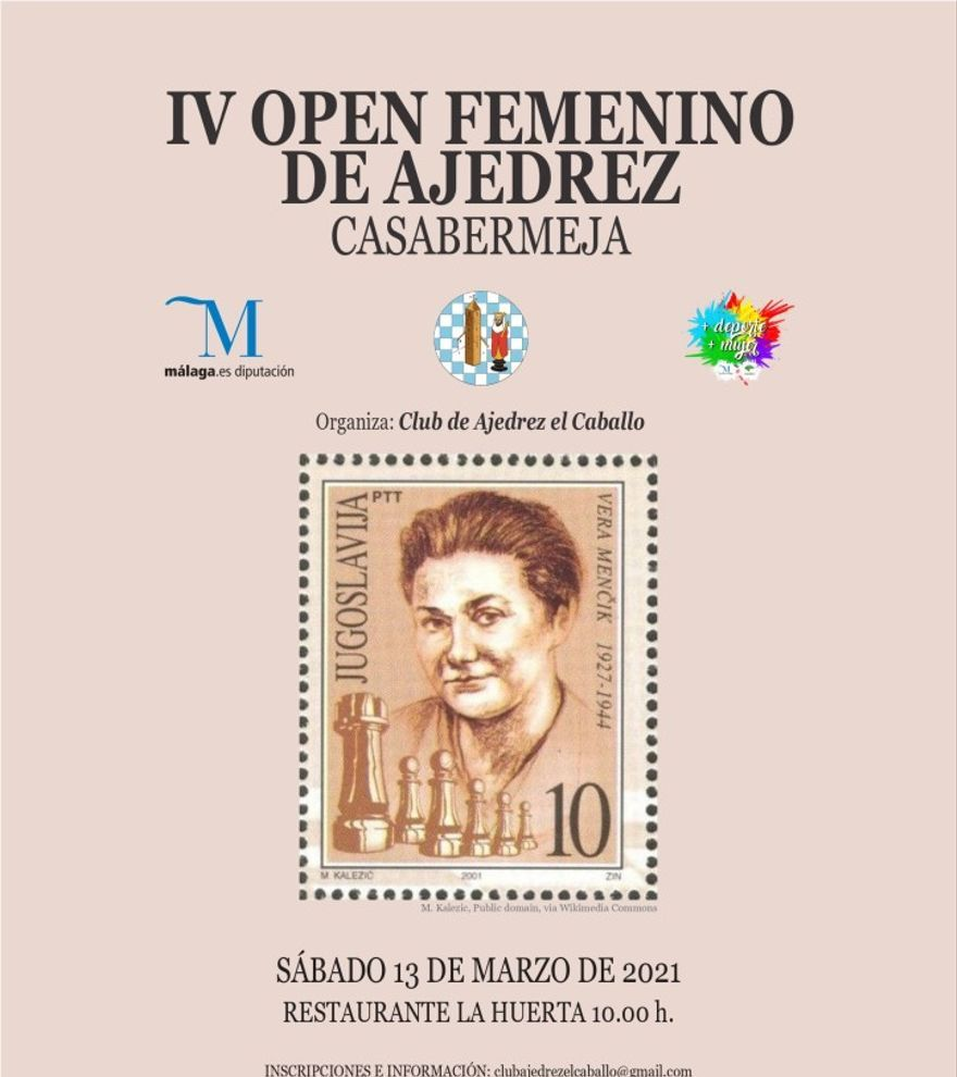 IV Open Femenino de Ajedrez