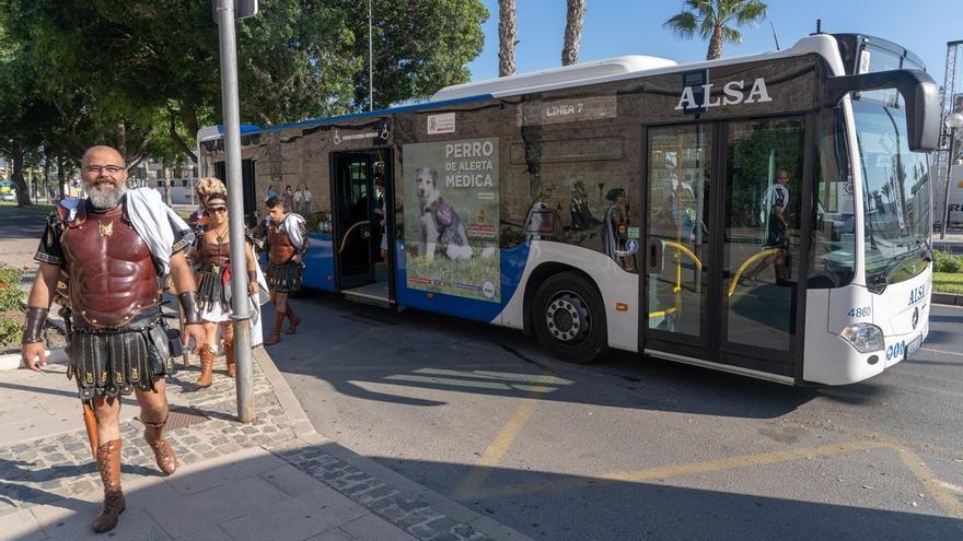 Autobuses gratis en Cartagena durante las fiestas para garantizar la vuelta a casa