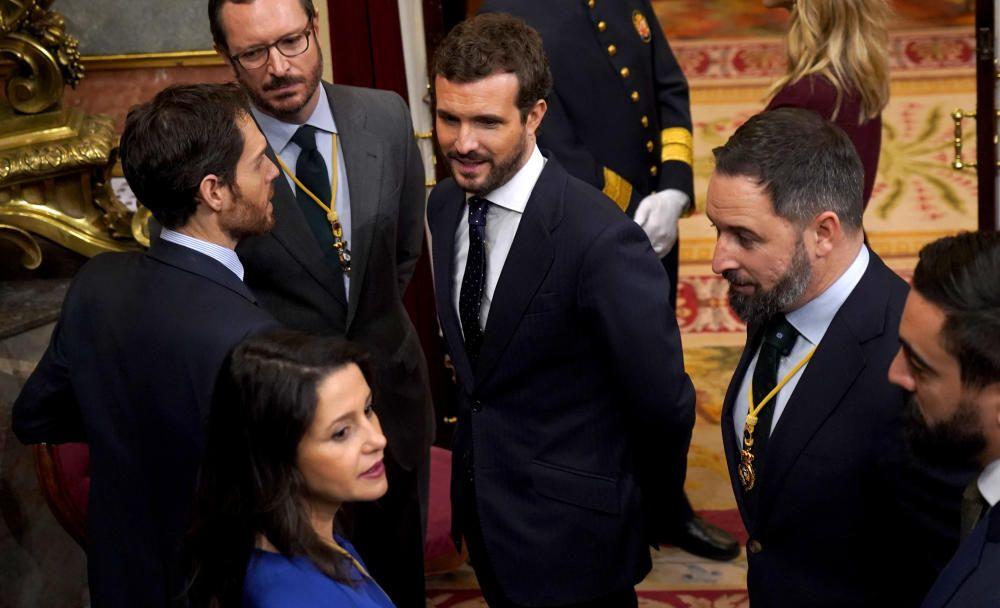 El Rey preside la apertura solemne de la legislatura