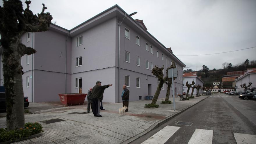La mejora de los pisos del barrio San José de Lada ya rebasa el 60% de ejecución