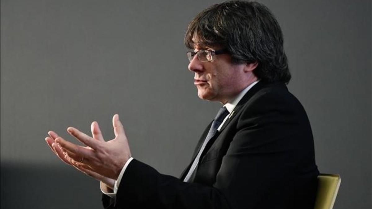 Puigdemont: 'Las instituciones europeas no apoyan la causa catalana'