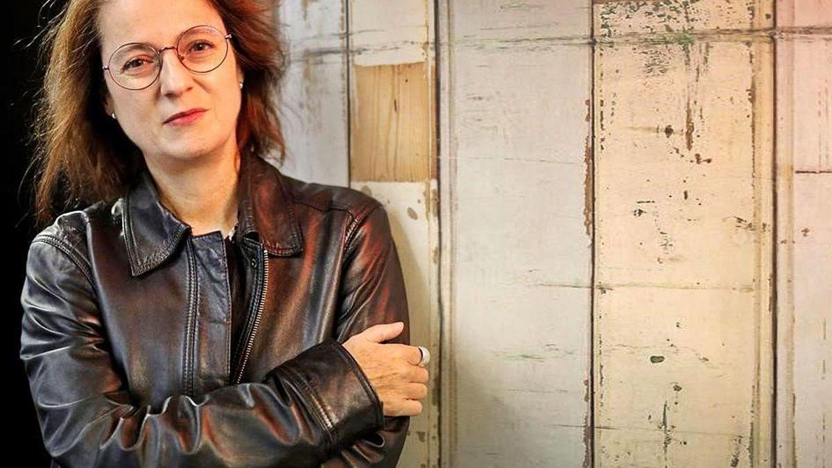 La escritora Marta Sanz.