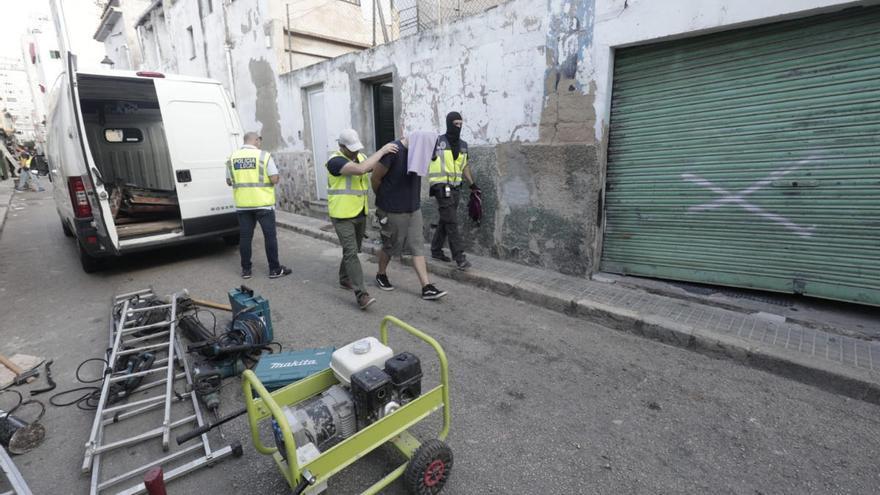 Festnahmen bei Drogenrazzia in Palma