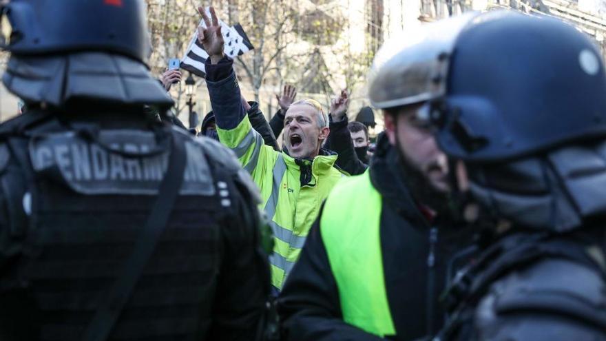 Nueva protesta de los 'chalecos amarillos' en París