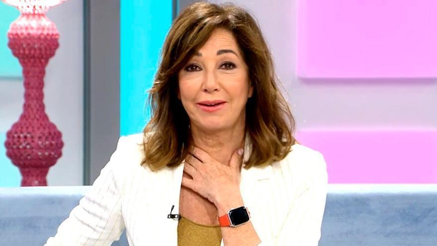 """Ana Rosa la lía con una pregunta sobre la lava en el especial de Telecinco: """"Vaya nivel"""""""