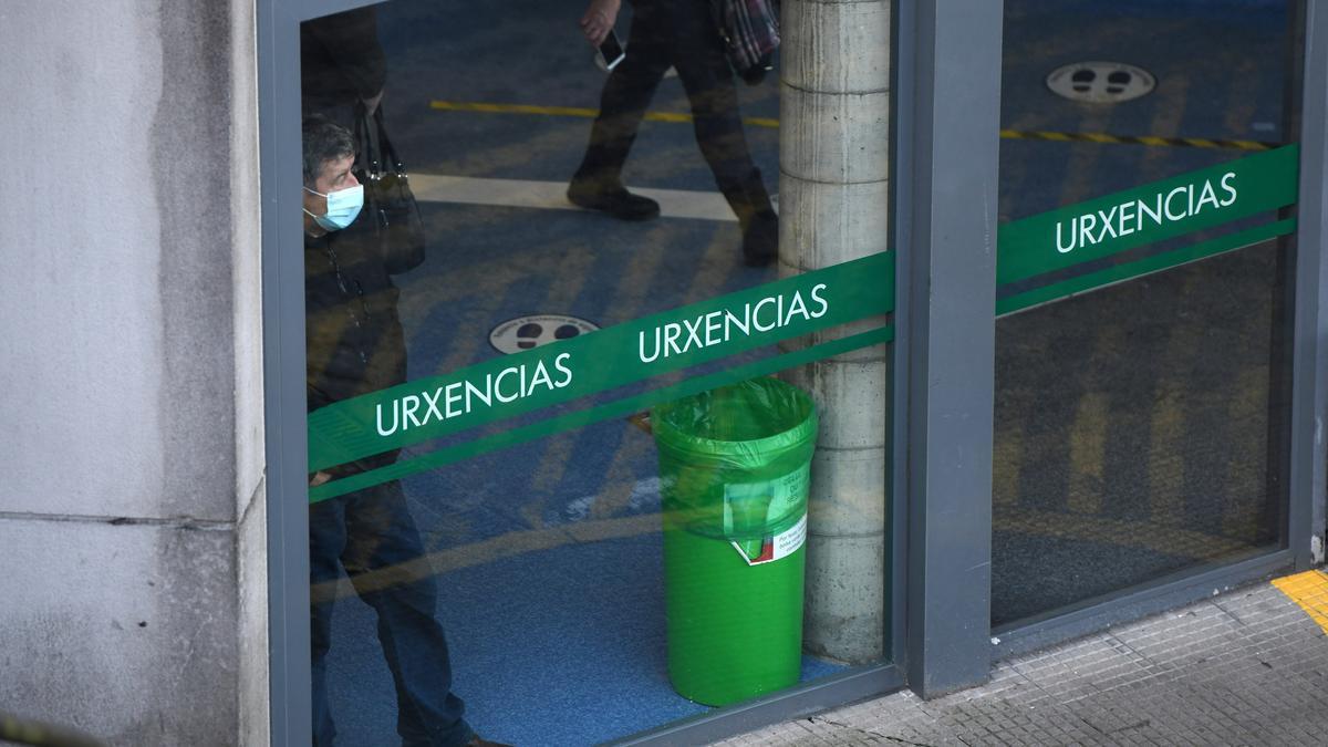 Entrada de Urgencias de Montecelo.