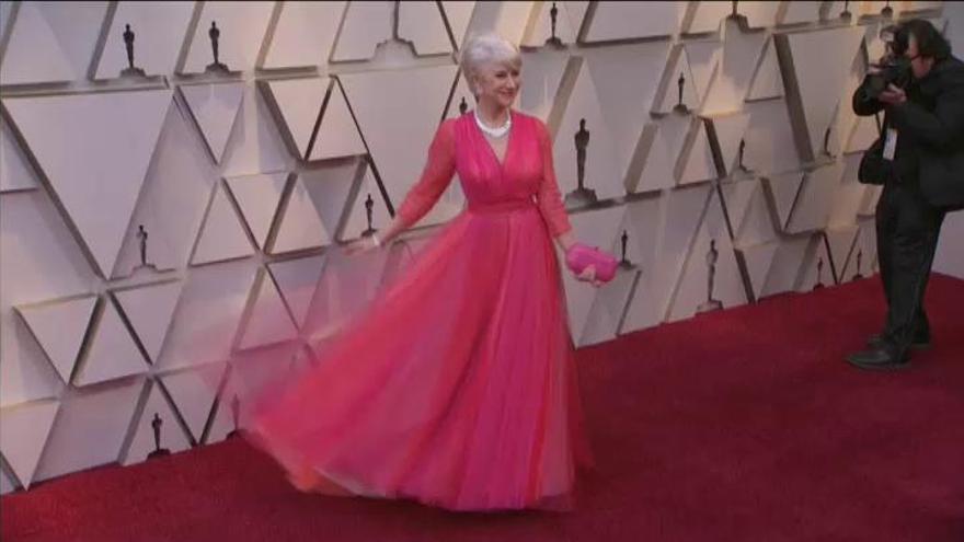 Oscars 2019: El color vuelve a la alfombra roja
