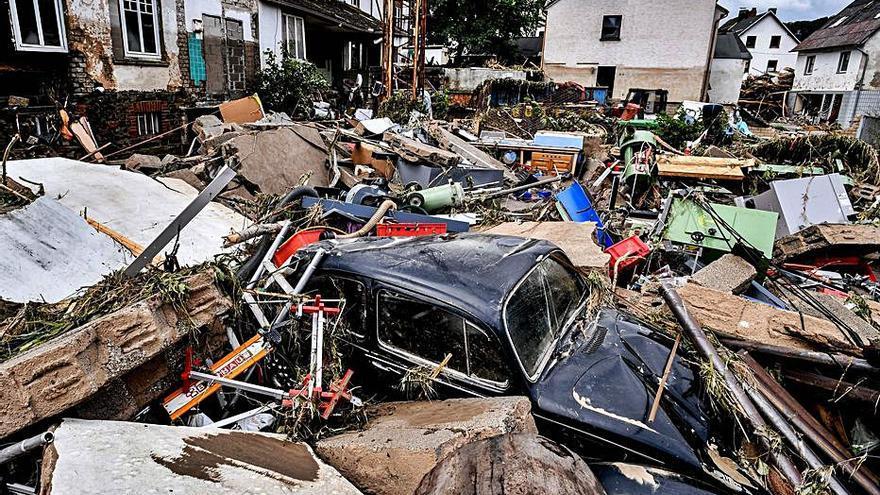 Almenys 103 morts a Alemanya, 23 a Bèlgica i més d'un miler de desapareguts per les pluges torrencials