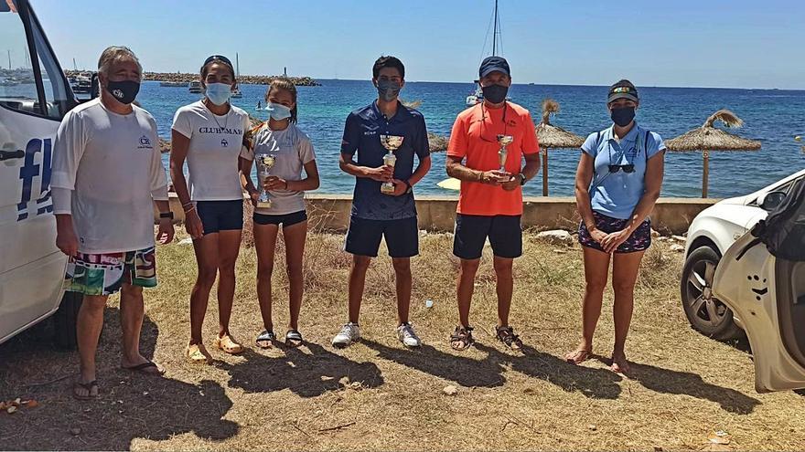 Gran actuación del CNSE en la Copa Balear de Kayak de Mar