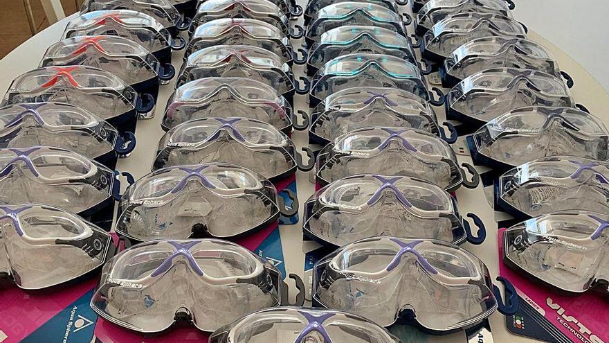 Deporvillage aporta ulleres de protecció al Severo Ochoa de Leganés