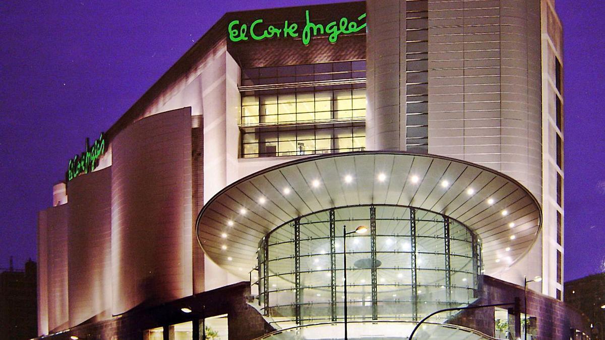 El Corte Inglés de la avenida de Francia, en València. | LEVANTE-EMV
