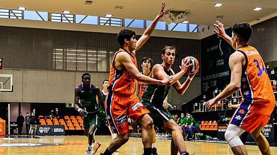 El Valencia Basket debuta con derrota en el Adidas Next Generation