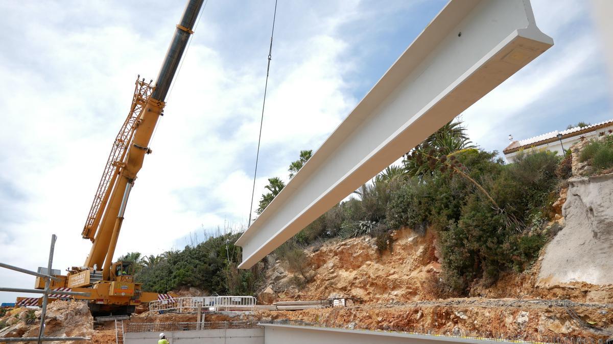 Becsa acabará en junio el arreglo de los daños de 'Gloria' en el sur de Peñíscola