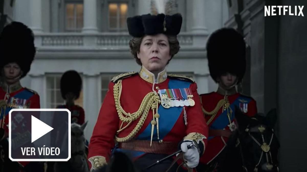 Una imagen del tráiler de la cuarta temporada de 'The Crown'.