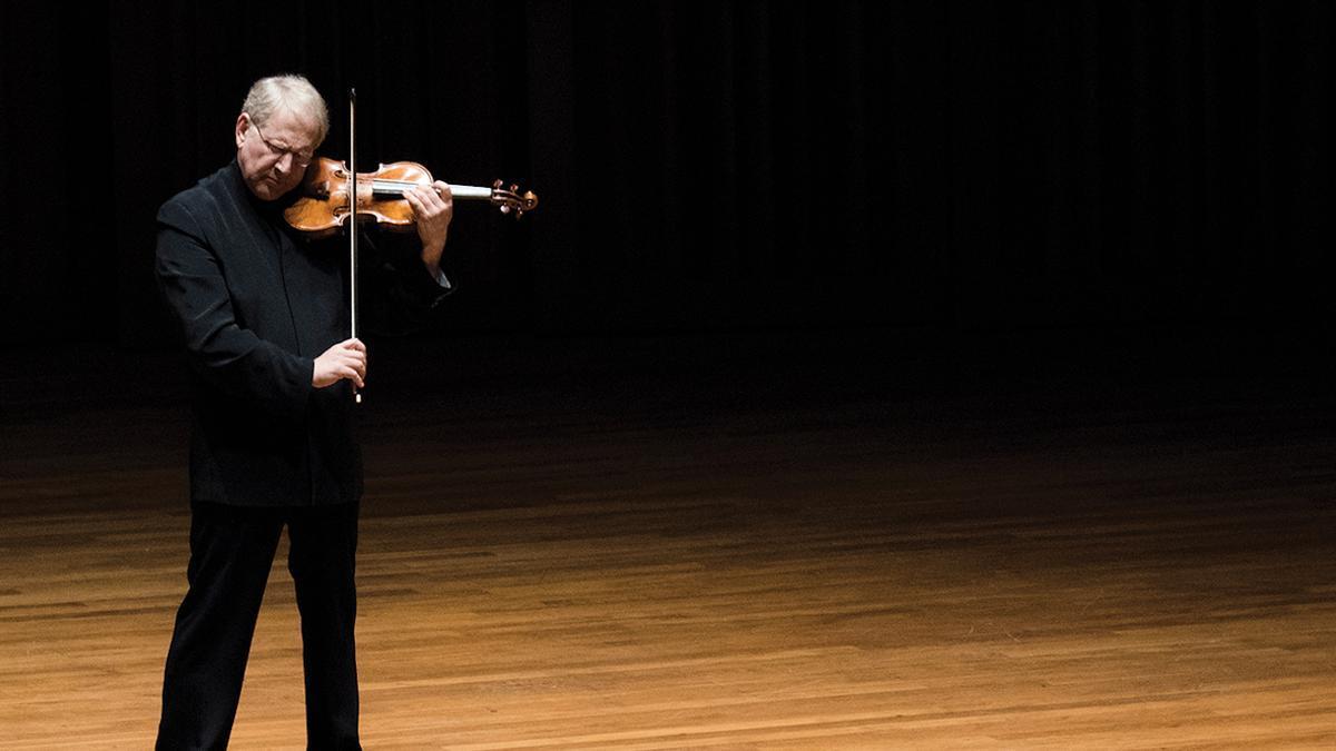 Shlomo Mintz és un dels violinistes més destacats del nostre temps.