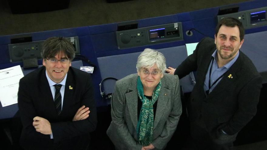 Autoritzen l'acte del Consell per la República a França amb Puigdemont, Comín i Ponsatí