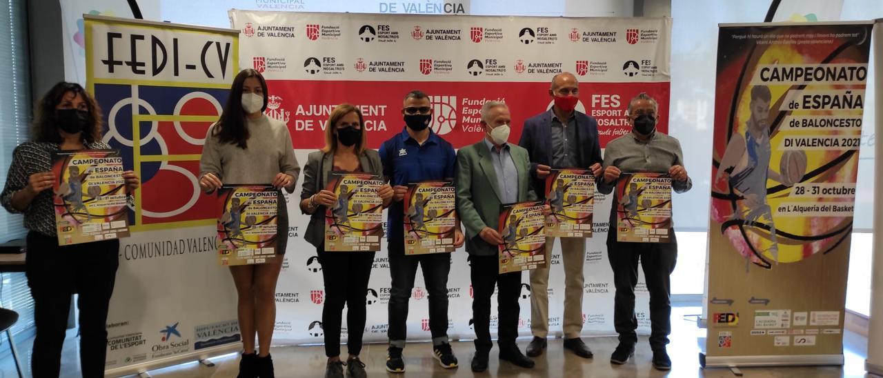 València acogerá el Campeonato de España para personas con diversidad funcional e intelectual