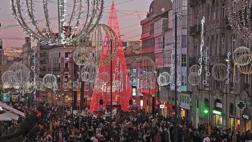 Vigo recibe hoy un colosal regalo de Navidad