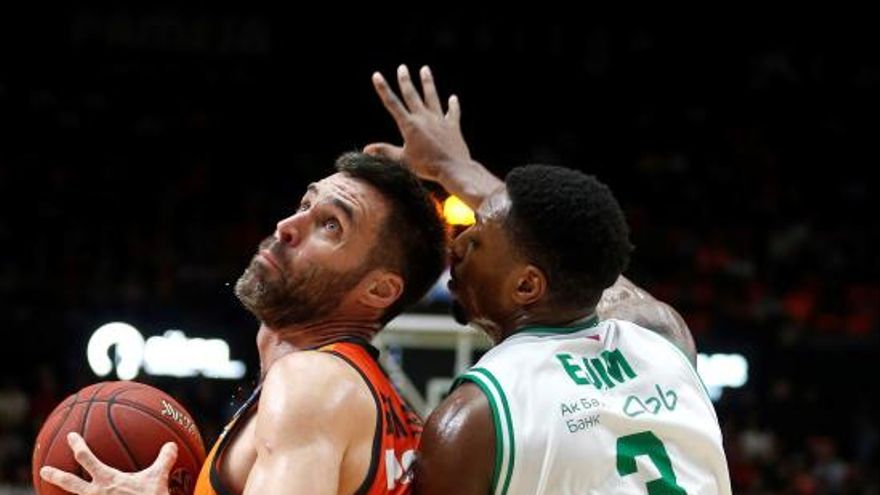 El Valencia Basket 'crema' al Kazan