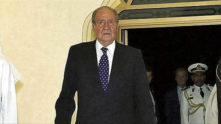 "Joan Carles I passa per quiròfan a Abu Dhabi ""ben acompanyat"""