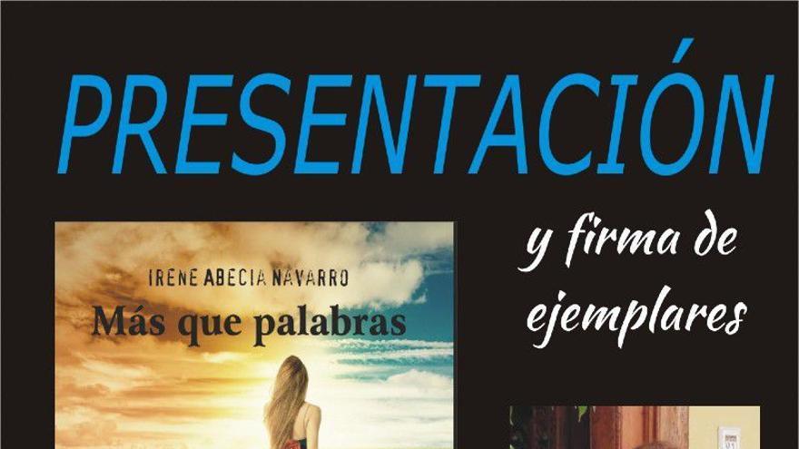 Presentación libro: Más que palabras, de Irene Abecia