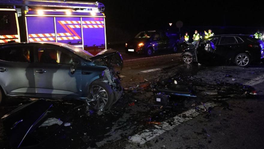 Mueren una madre y sus dos hijos en un accidente en Galicia