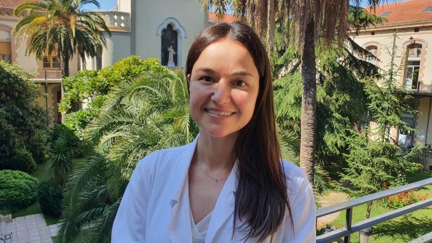 Esta joven oncóloga ingresa en la Academia de Medicina de la Comunidad