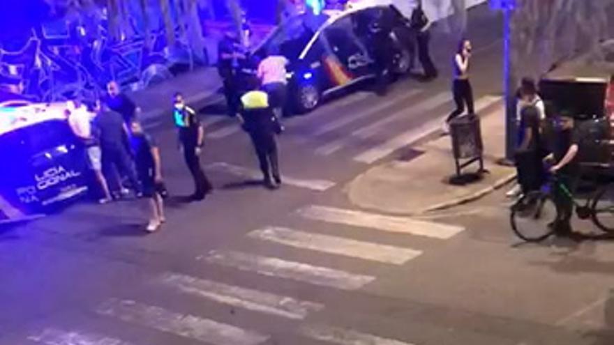 Un detenido por agredir a policías en Plasencia