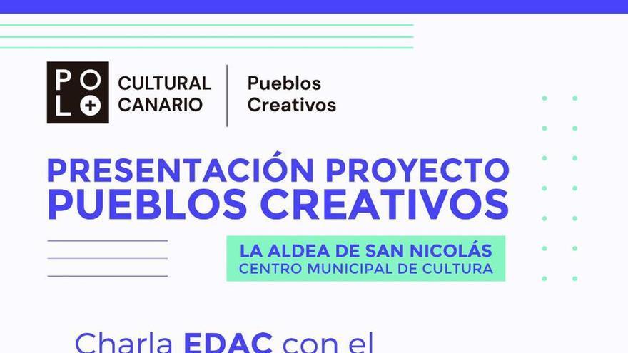 Charla EDAC con el artista plástico grancanarioi