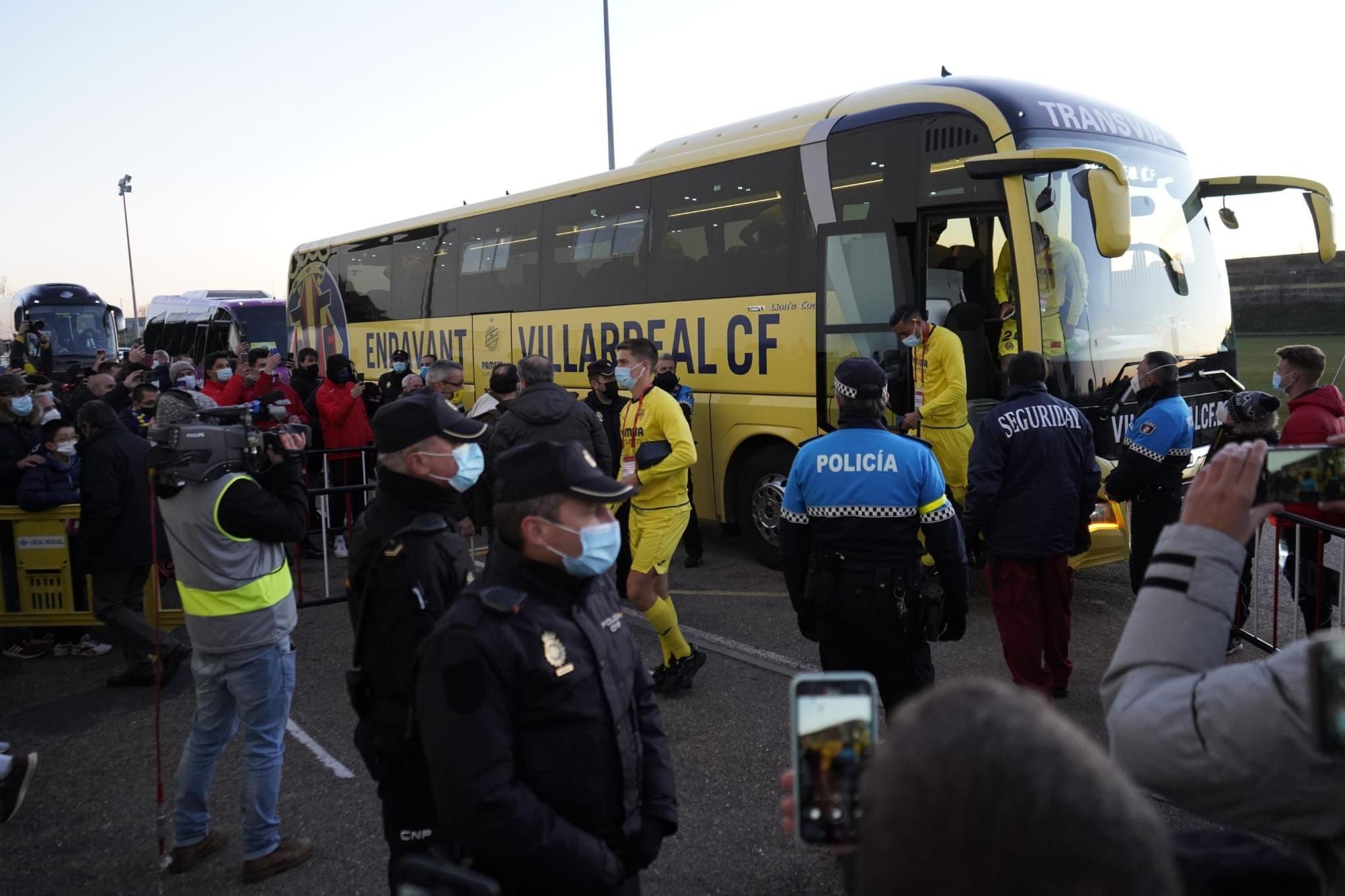 GALERÍA | El Zamora - Villarreal, en imágenes