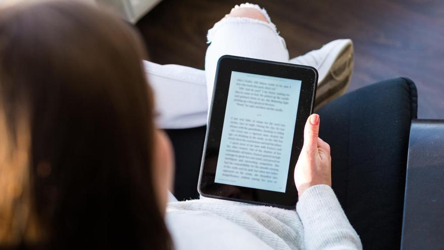 La venta de libros digitales en España crece un 43%