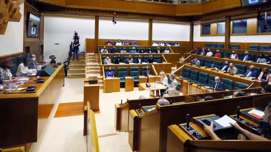 Constituido el Parlamento vasco de la XII legislatura
