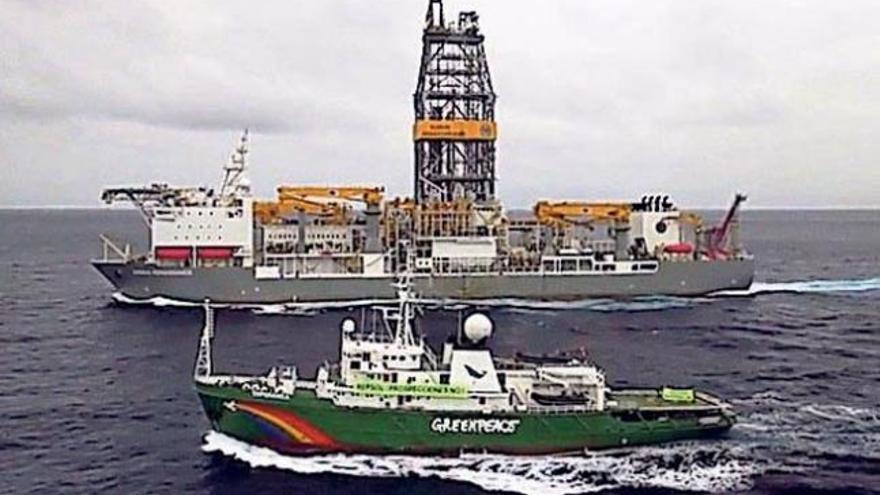Greenpeace pide proteger las aguas canarias para evitar futuras prospecciones