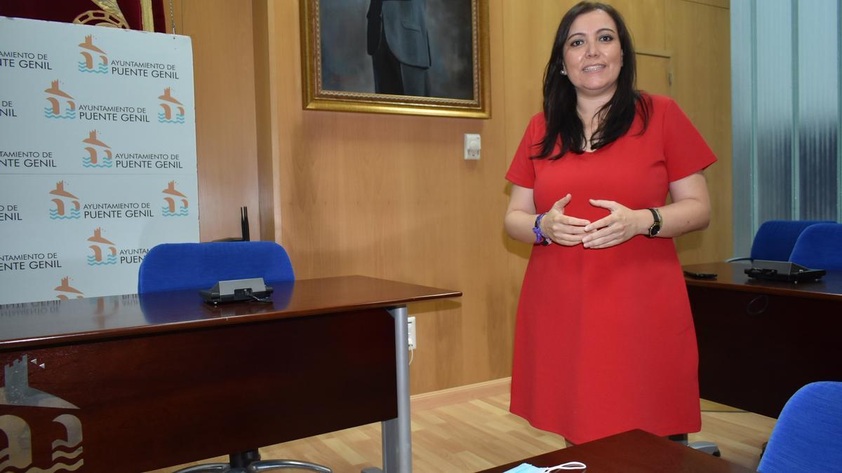 Ana Carrillo, concejala en el Ayuntamiento de Puente Genil.