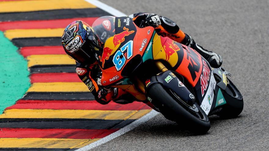 Gardner, ganador de Moto2 2021 en el circuito de Sachsenring
