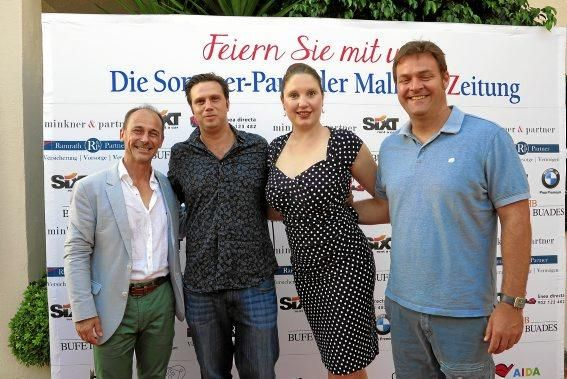 Sebastian Oliver, Ariel Eder, Lisah Elsinger und Andres Gelabert