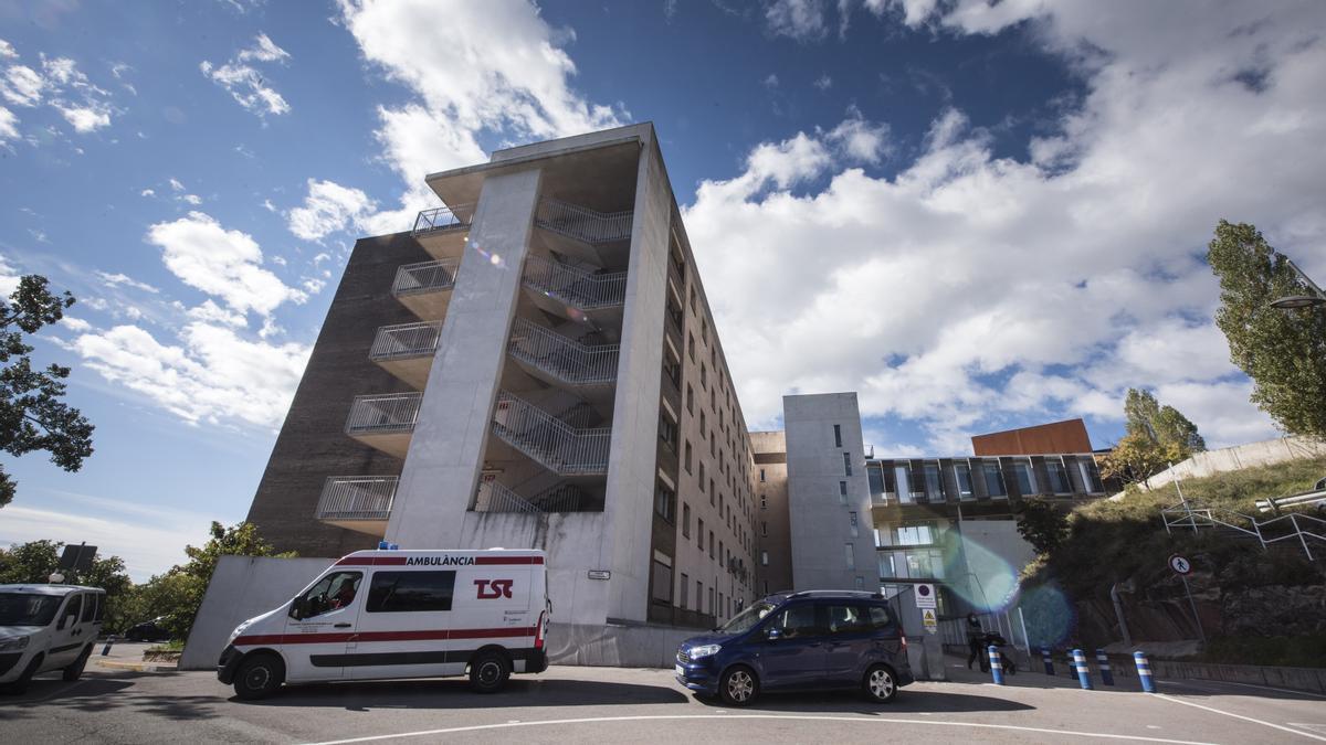 Exterior de l'hospital de Berga