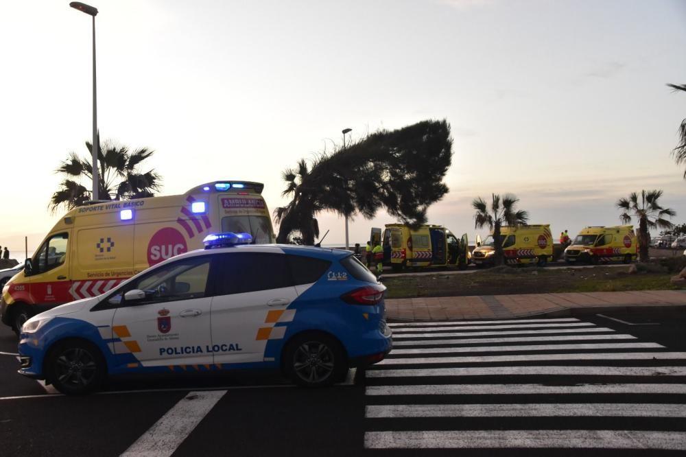 Cuatro fallecidos a bordo de un cayuco que llegó a una playa de Tenerife