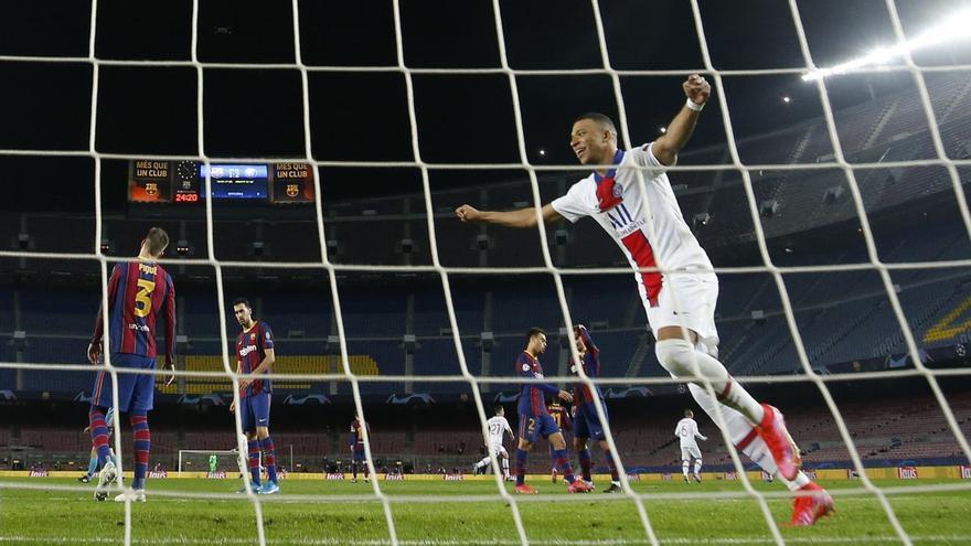 Mbappé, el aspirante al trono de Messi que el Barça no quiso