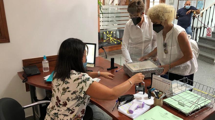 Registran en el Ayuntamiento de Pozoblanco las  firmas por la nueva residencia