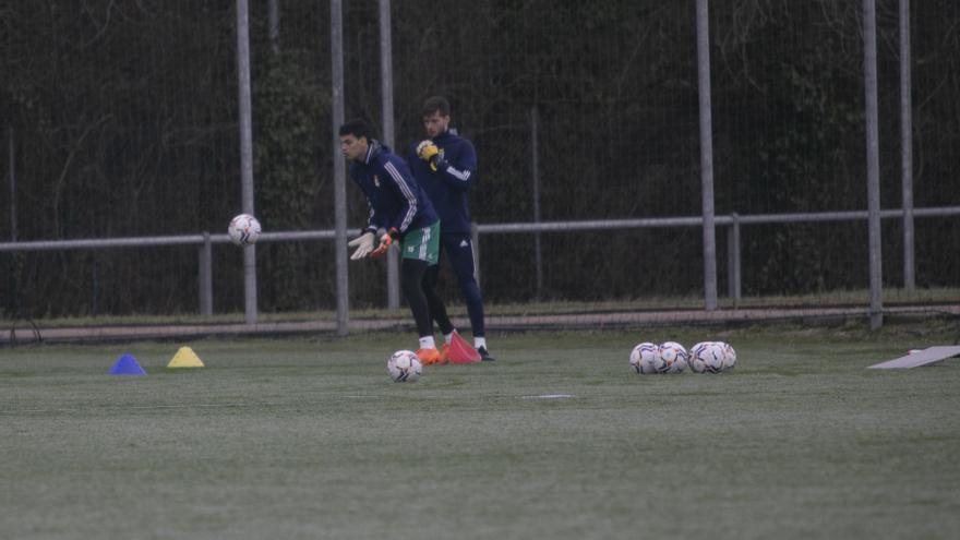 Las imágenes del entrenamiento del Oviedo