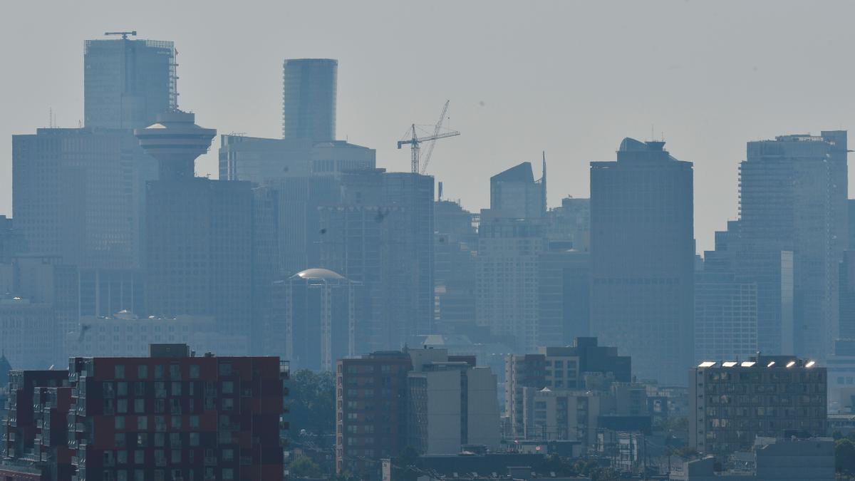 Vancouver amanece bajo una ola de calor como no se recuerda