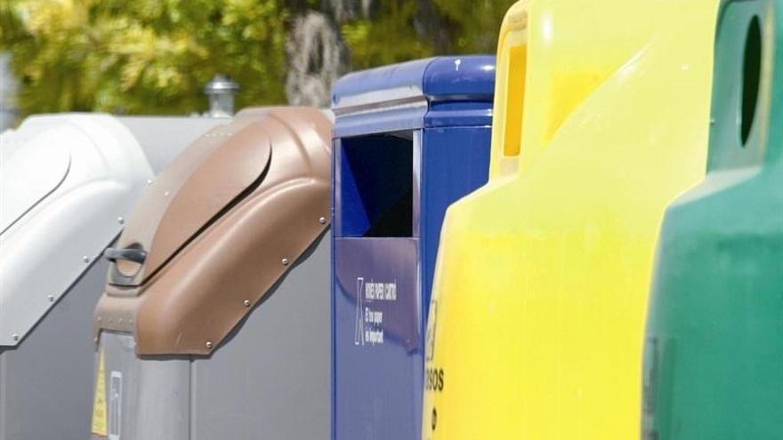 Santa Cruz recupera una media de 3,1 kilos de residuos reciclables por habitante